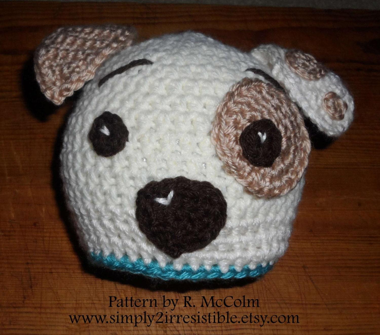 Hound dog puppy hat pattern crochet pattern 19 newborn to this is a digital file bankloansurffo Gallery
