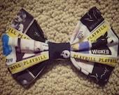 Playbill Hair Bow