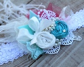 Mon Seul Colur by London Raquel Shabby Chic Headband Made to match Persnickety and Matilda Jane Good Hart Spring 2013