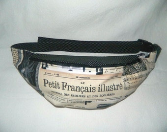 Fanny Pack - Hip Bag - Paris - French Theme - Vacation Bag
