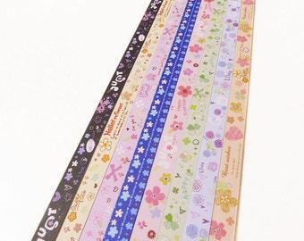 Origami Lucky Star Paper Strips Lovely Floral Designs Star Folding DIY - Pack of 160 Strips