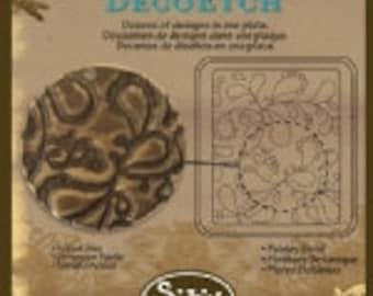 Sizzix DecoEtch Die - Paisley Swirl by Vintaj
