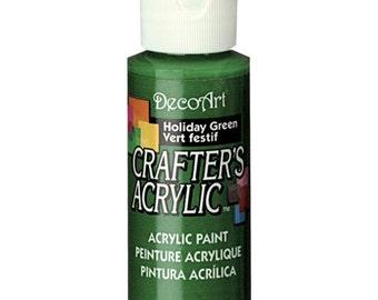 Holiday Green Acrylic Paint (2oz)