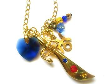 Sailor Uranus Space Sword Blaster Necklace