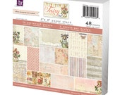 Fairy Rhymes 6x6 Paper Pad of scrapbooking papers by Jodie Lee for Prima Marketing 950484