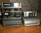 Vintage Polaroid 600 Camera with Free Polaroid One600