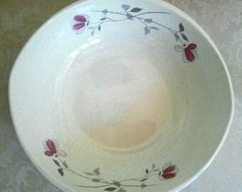 Vintage Franciscan Duet Earthenware Stoneware Bowl