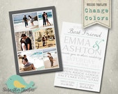 Wedding Announcement Templates Save the Date - Wedding 19