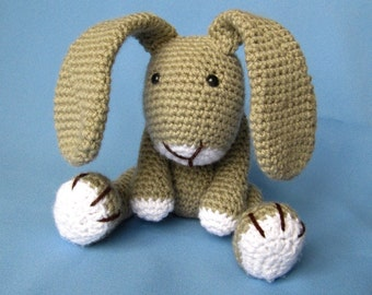 Little Bunny Simon Crochet Pattern / PDF e-Book