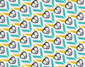SALE | Cloud9 Certified Organic Cotton Fabric - Tsuru Of a Feather - Japan Inspired Fabric - 1/2 Yard