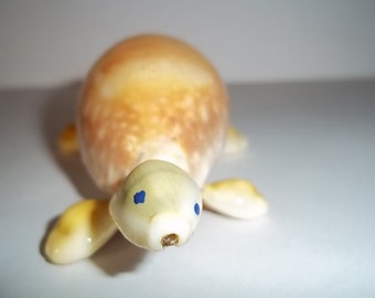 Gold Cowrie Shell Turtle