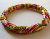 Bead Crochet Bangle: Colors