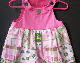Popular items for baby girl john deere on Etsy
