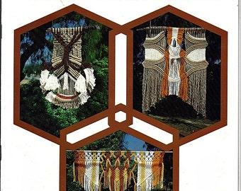 Macrame Wall Hangings Pattern Book GM 7