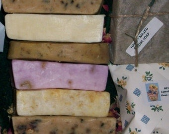 Organic Soaps, Pick a Mix - Choose any 6 bars Great deal on organic and/or vegan CP soaps Bath and Beauty skin care handmade soap