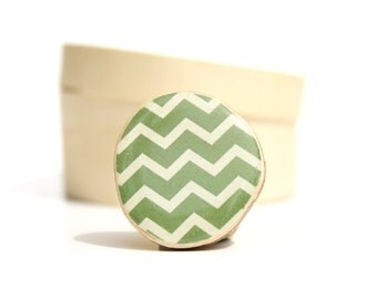 Moss Green Chevron Ring. Green Statement Ring. Wood Statement Ring. Wooden Ring. Adjustable Ring. Starlight Woods