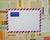 Luftpost Airmail Envelope - set of 10