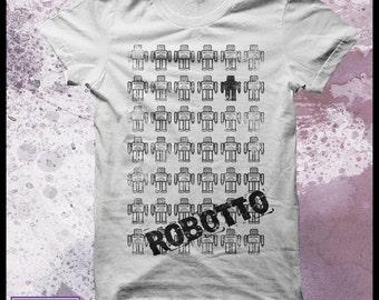 Robot tshirt men's