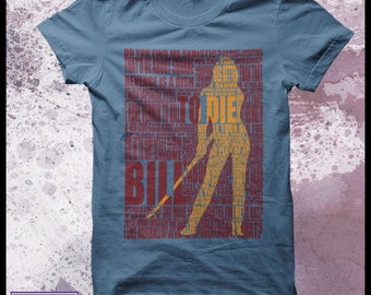Kill Bill tshirt men's - Typography design
