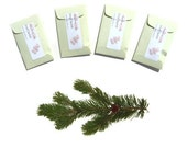 Winter Wedding Favors Scented Sachets Pine Scotch Xmas Decorating Mens Stocking Stuffer Boyfriend Gift Idea Promotional Items Aromatherapy