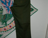 Vintage Levis Denim Jeans Forest Green Size 34x32 EUC Jeans Denim Pants