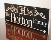 Custom Established Sign, Custom Wooden Family Name Sign, Benchmark Custom Signs Maple RR