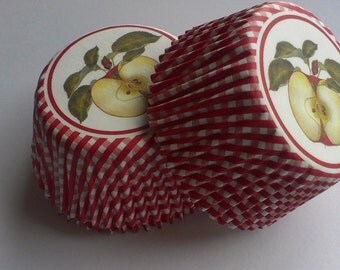 Apple Cupcake Liners (50)
