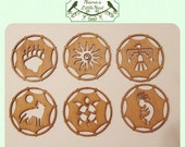 Dream Catchers - Laser Cut Wood - Set of 6 - Make Your Own