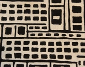 3/4 Yard Alexander Henry Black and White City Scapes