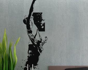 Modern Rockstar 3 - uBer Decals Wall Decal Vinyl Decor Art Sticker Removable Mural Modern A341