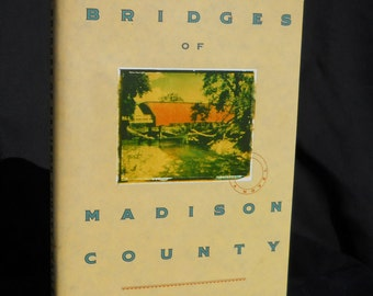 The Bridges of Madison County by Robert James Waller first edition 1992, FREE SHIPPING