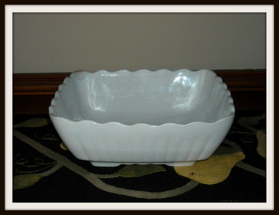 Antique johnson brothers of england large square serving bowl royal