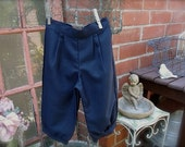 midnight blue size 7-9yrs little boy knickers, knicker pants for little boys, midnight knickers, ringbearer outfit