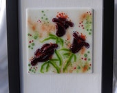 reserved listing- bralla 3 glass picture set