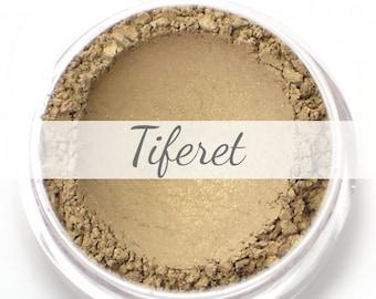 """Eyeshadow Sample - """"Tiferet"""" - golden taupe with shimmer (Vegan) Mineral Makeup Eye Color Pigment"""