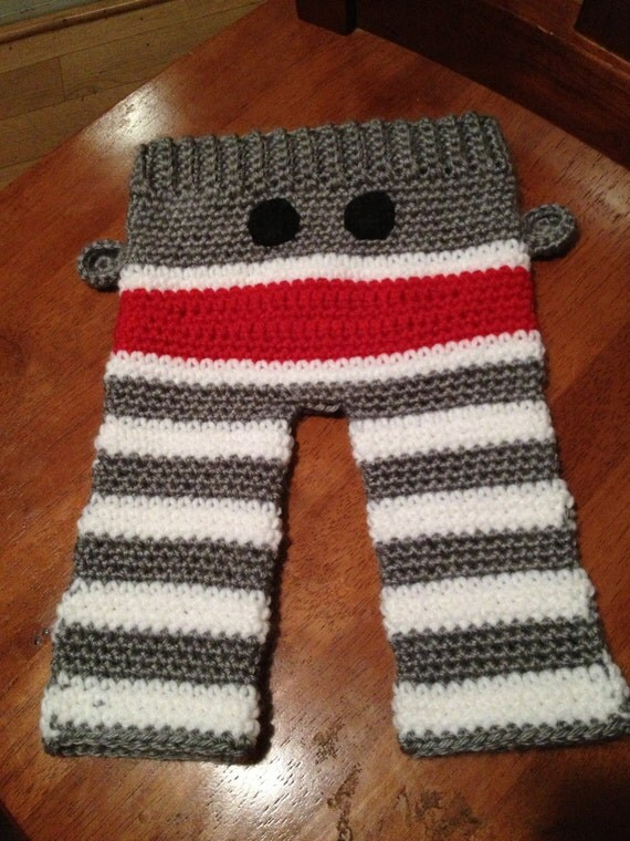 Knitting Pattern For Sock Monkey Pants : Unavailable Listing on Etsy
