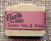 Green Tea & Shea Soap