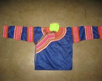 Flower Hmong Girl's Shirt