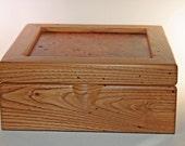 Jewelry box, Chestnut