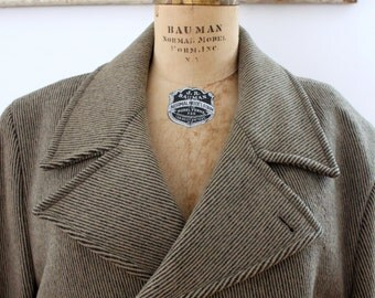 Vintage wool stratojac men's coat