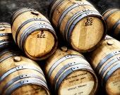 9x12 Whiskey Barrels Photo Print