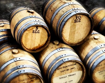 Whiskey Barrels Photo Print
