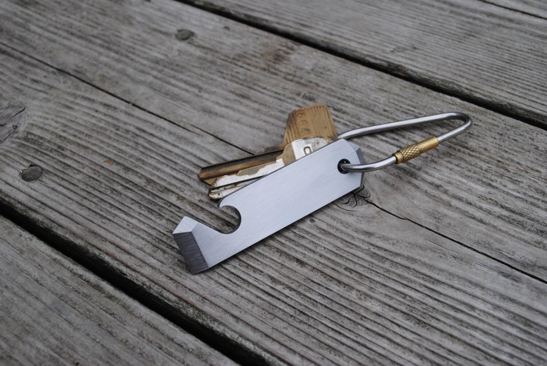 pry bar bottle opener keychain tool. Black Bedroom Furniture Sets. Home Design Ideas