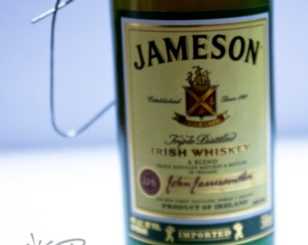 Jameson Christmas Ornament-- Jameson Irish Whisky Themed Christmas Tree Ornament.