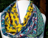 INFINITY SCARF  Paisley Multicolor  -  Springl accent for your wardrobe
