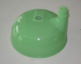 Vintage Jadeite Jadite Green Electric Mixer Juice Bowl Top Mount Attachment for Sunbeam Mixer