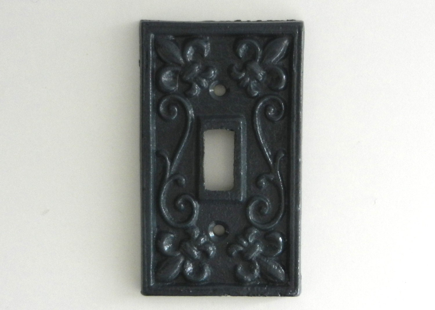 Vintage style switch cover decorative plate by juxtapositionsc - Wrought iron switch plate covers ...