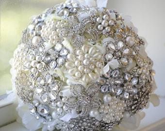 Deposit for Custom Petal Brooch Bouquet