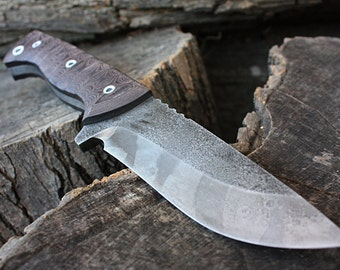 """Handcrafted FOF """"Ranger"""", survival, hunting or tactical knife"""