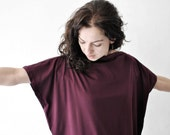 oversized shirt, oversized dress, burgundy